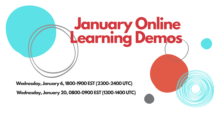 January 2020 Online Demo Course