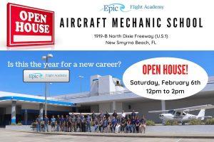 Feb 6 Open House Aircraft Mechanic School