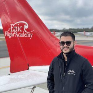 Flight Instructor Omar Perez Donato