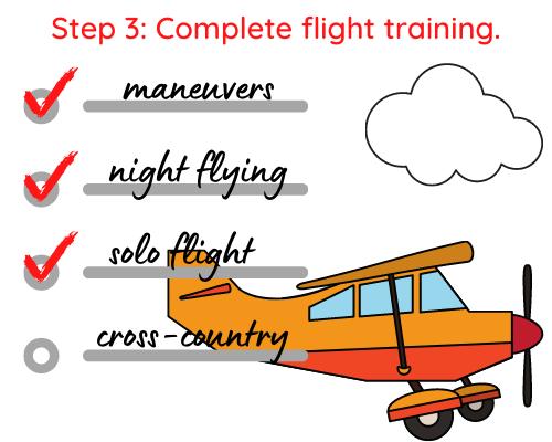 Step 3 Private Pilot License