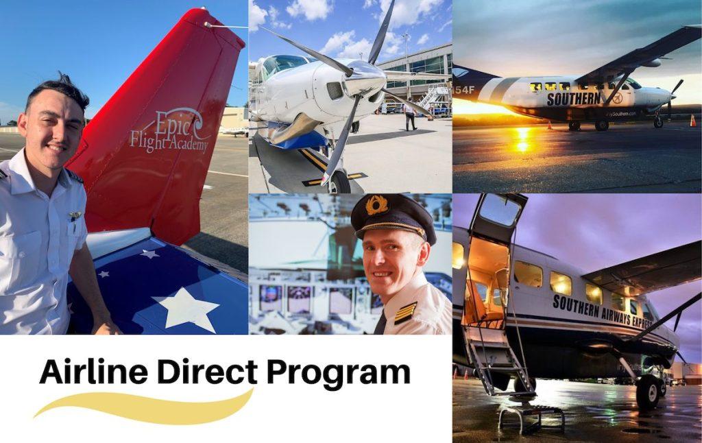Epic Airline Direct Pilot Program