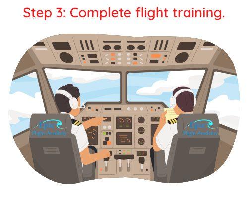 Step 3 Commercial Pilot License