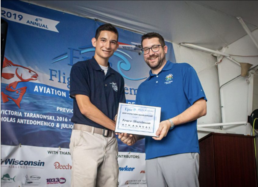 2019 Aviation Scholarship Winner