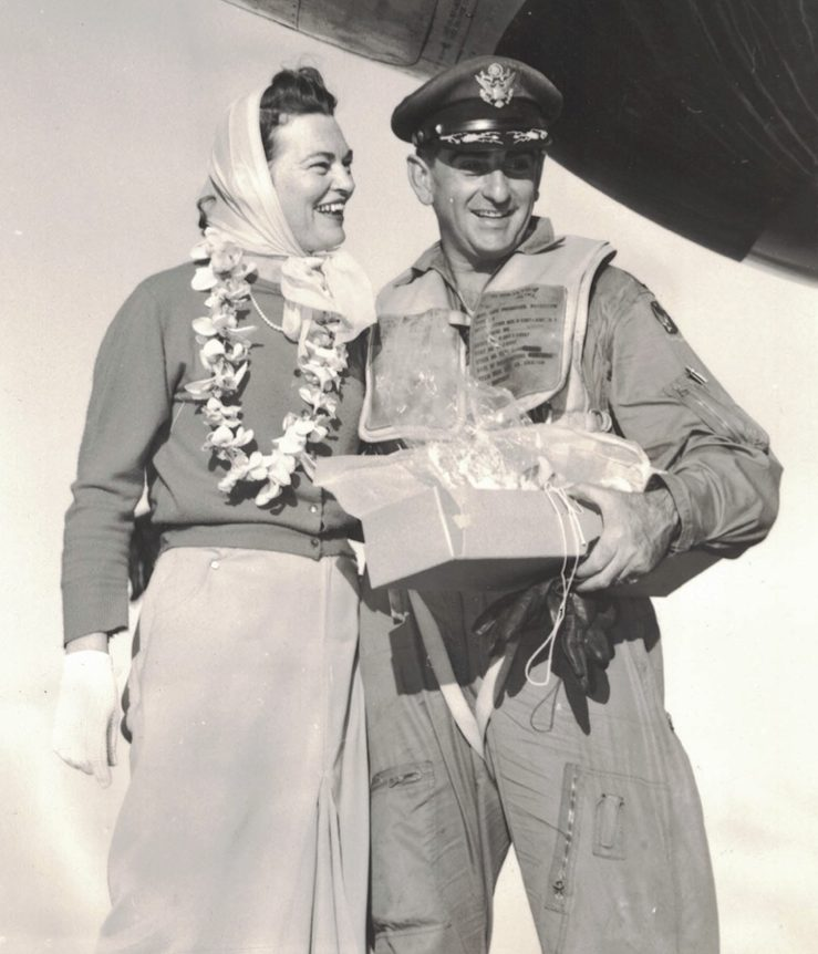 Colonel Anthony Perna and Wife Betty