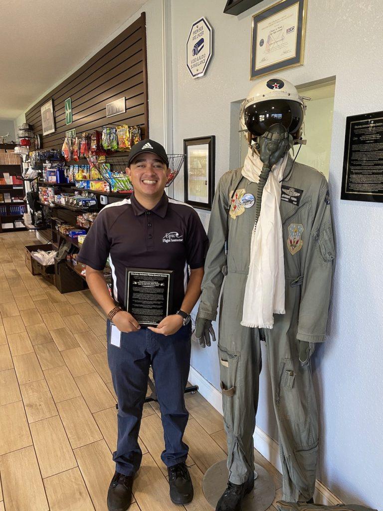 Manuel Diaz Wins Safety Award