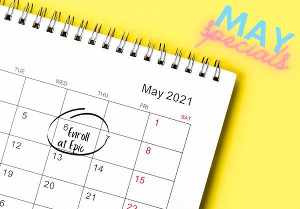 May 2021 Training Specials