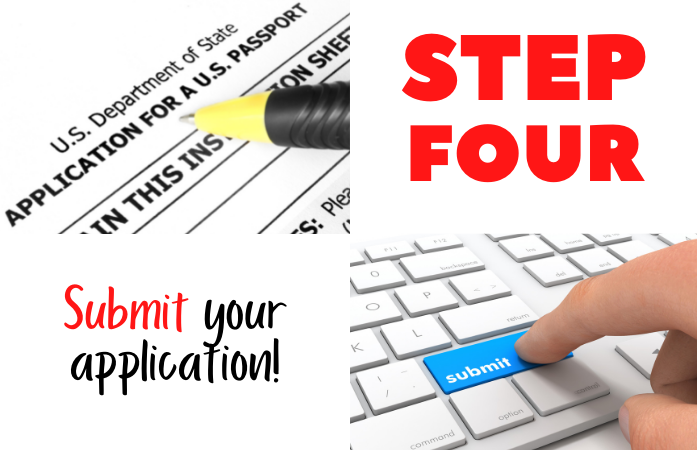 Submit Passport Application
