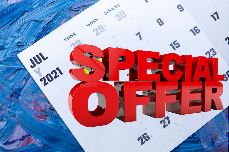 July 2021 Special at Epic
