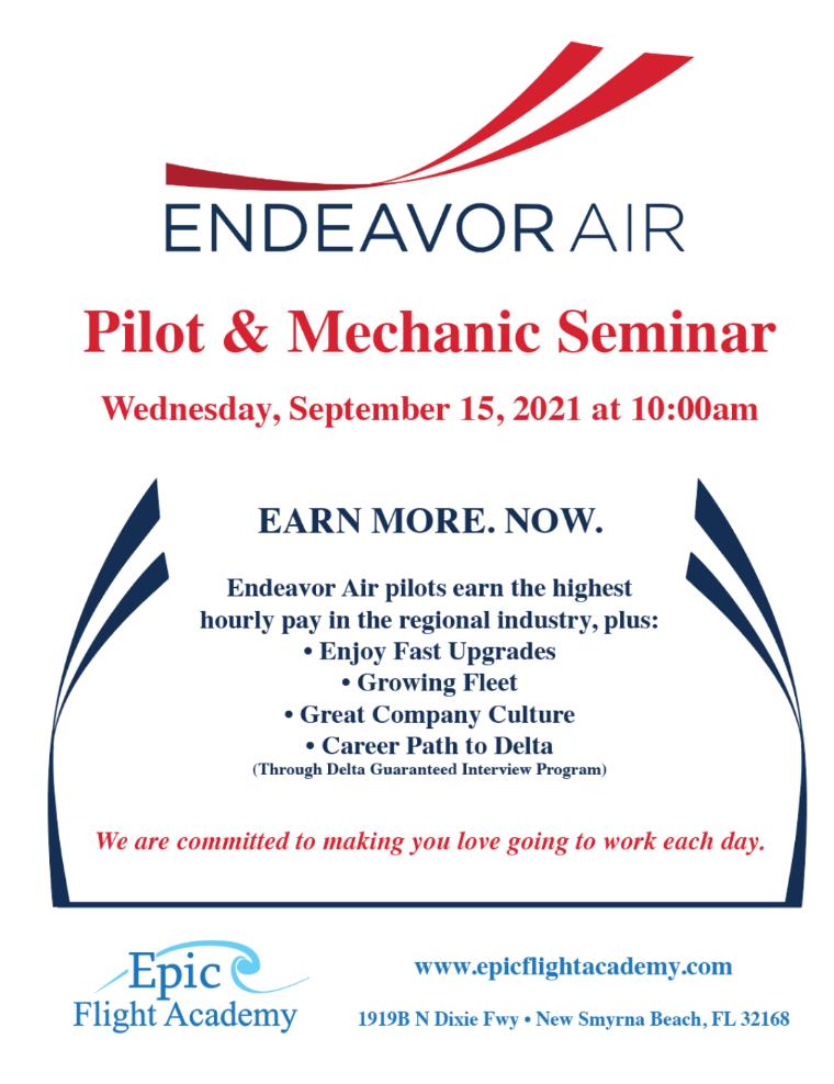 Endeavor Air Career Seminar