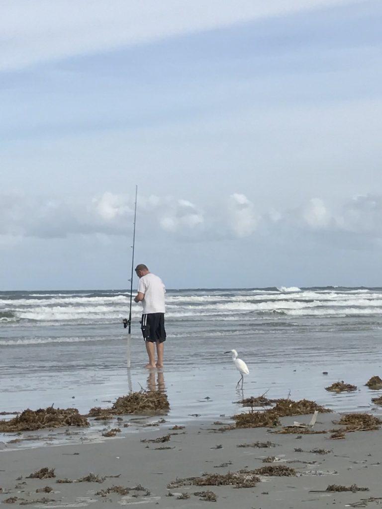 Fishing at New Smyrna Beach