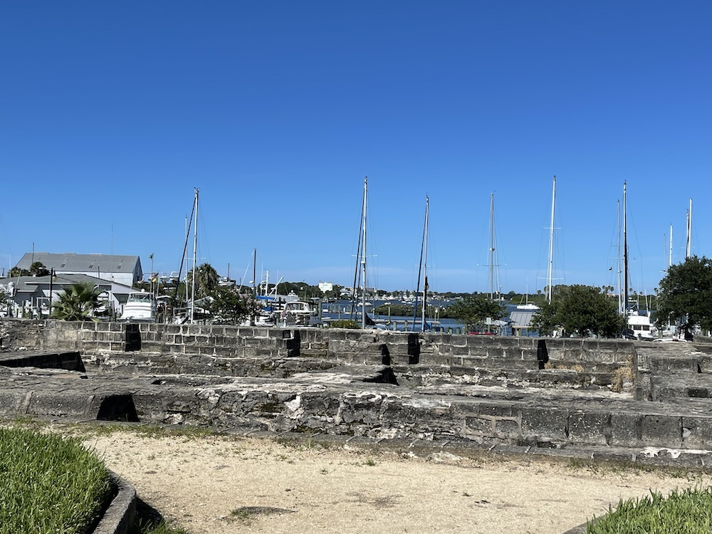 The old fort is one of many things to do in New Smyrna Beach