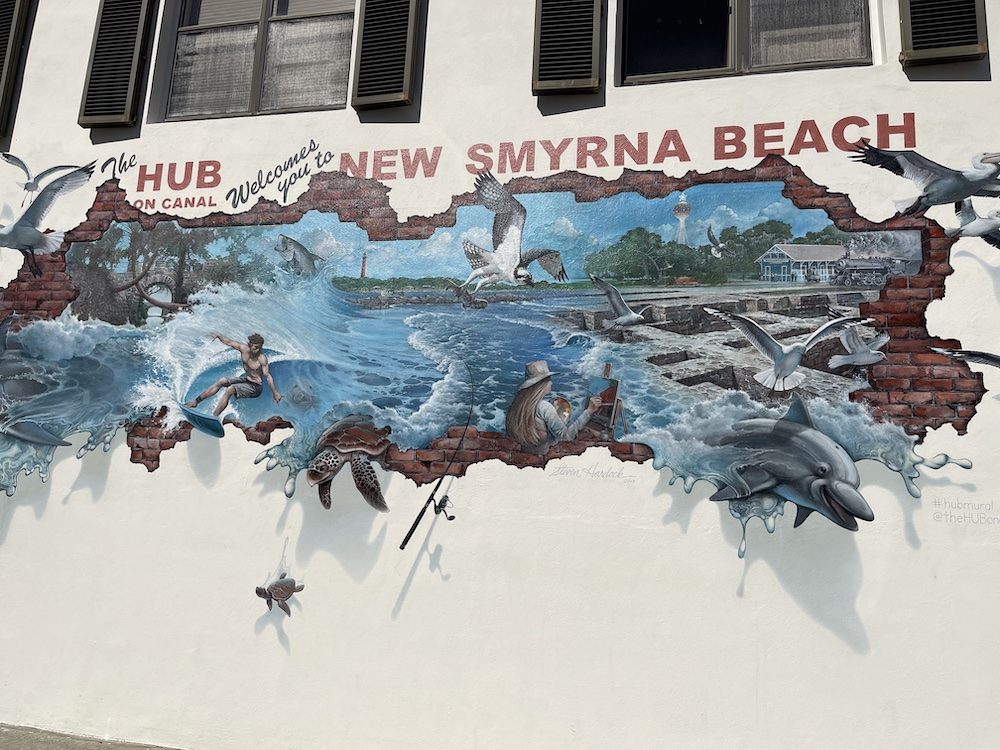 The Hub features the work of local artists